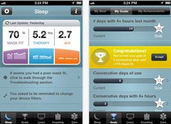 Image of SleepMapper interface.
