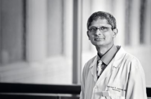 Sudarshan Jadcherla, MD, principal investigator in the Center for Perinatal Research at Nationwide Children's Hospital. Photo courtesy of Nationwide Children's Hospital