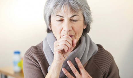 Woman with COPD