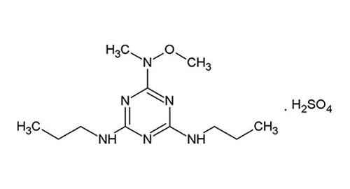 The chemical structure of GAL-021 dihydrosulfate.